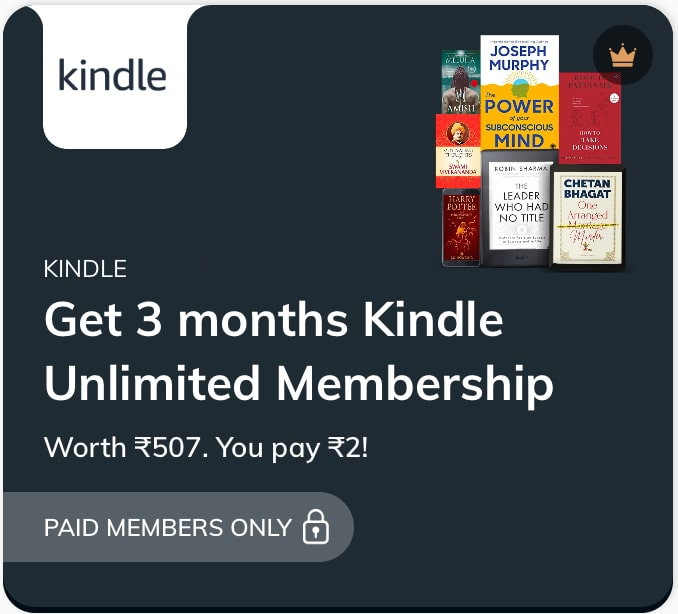 Kindle Membership