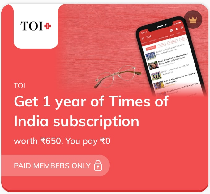 TOI Subscription