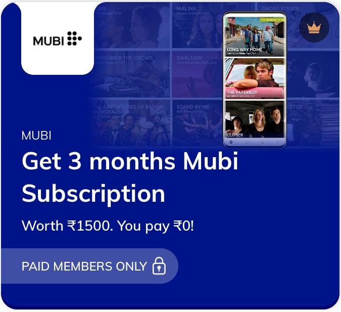 Mubi Subscription