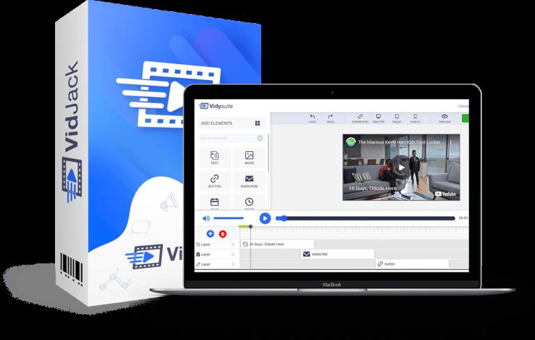 Vidjack Online software