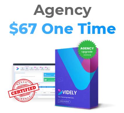 Vidley Upsell 2: Videly agency Price